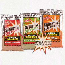Прикормка Dynamite Baits Swim Stim Milled Expanders Red Krill 750g - DY163