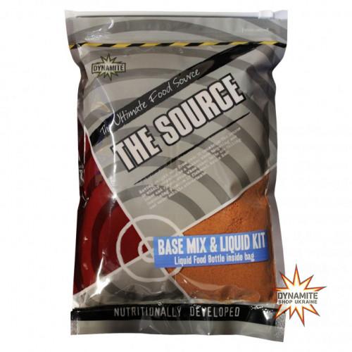 Базовий Мікс Dynamite Baits Source base mix & Liquid Kit 1kg - DY058