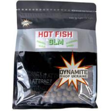 Тонучі бойли DYNAMITE BAITS Hot Fish & GLM 15mm, 1kg - DY1008