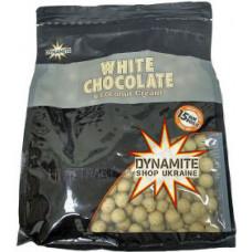 Бойли тонучі DYNAMITE BAITS White Chocolate & Coconut Cream S/L 15mm, 1kg - DY652