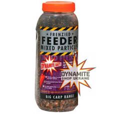 Зернова підгодовувальна суміш Dynamite Baits Frenzied Feeder Mixed Particles 2,5l - DY038